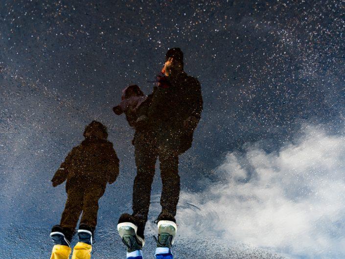 Projet photographique: devenir père, le bouleversement d'une vie